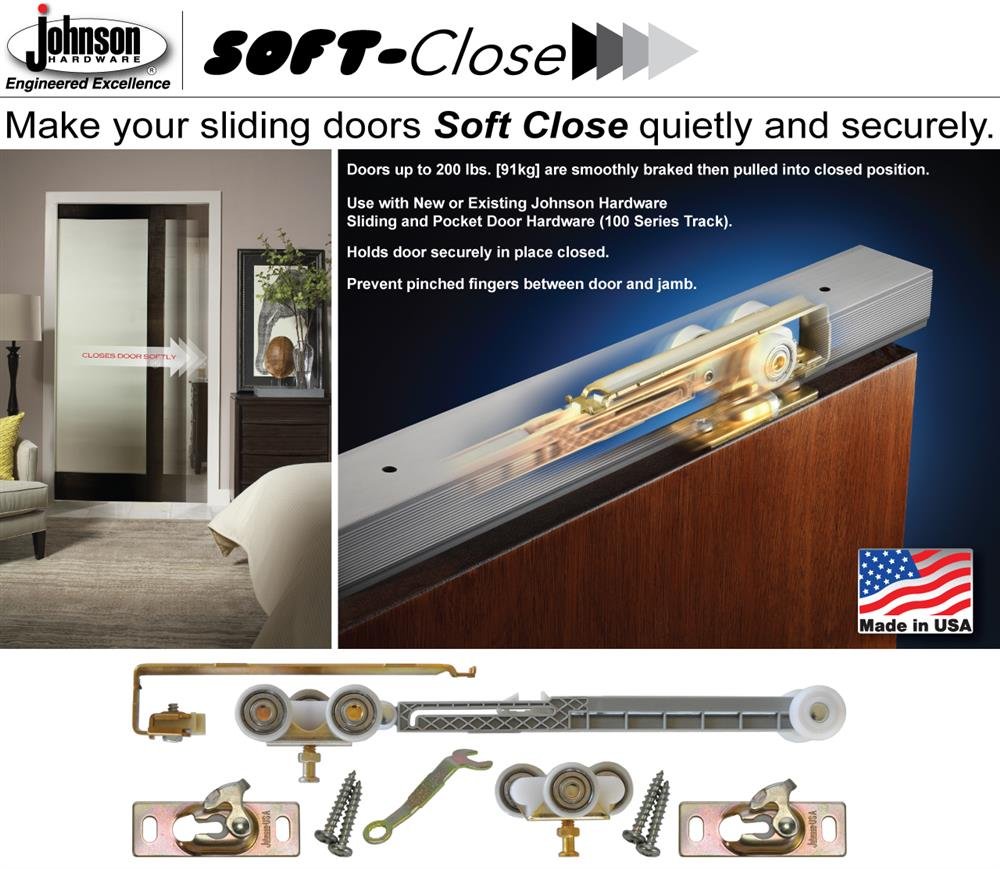 Exceptionnel The 1060SOFT Soft Close Retrofit Kit Is Designed To Quickly Convert  Existing 1500 Series Pocket Door Frames To Single Direction Soft Close Door  Operation.