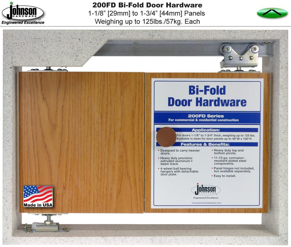 Johnson Hardware 200FD Bi-Fold Door Hardware | Johnsonhardware.com ...