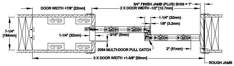 Amazing 2 Door Opening Width Dimensions