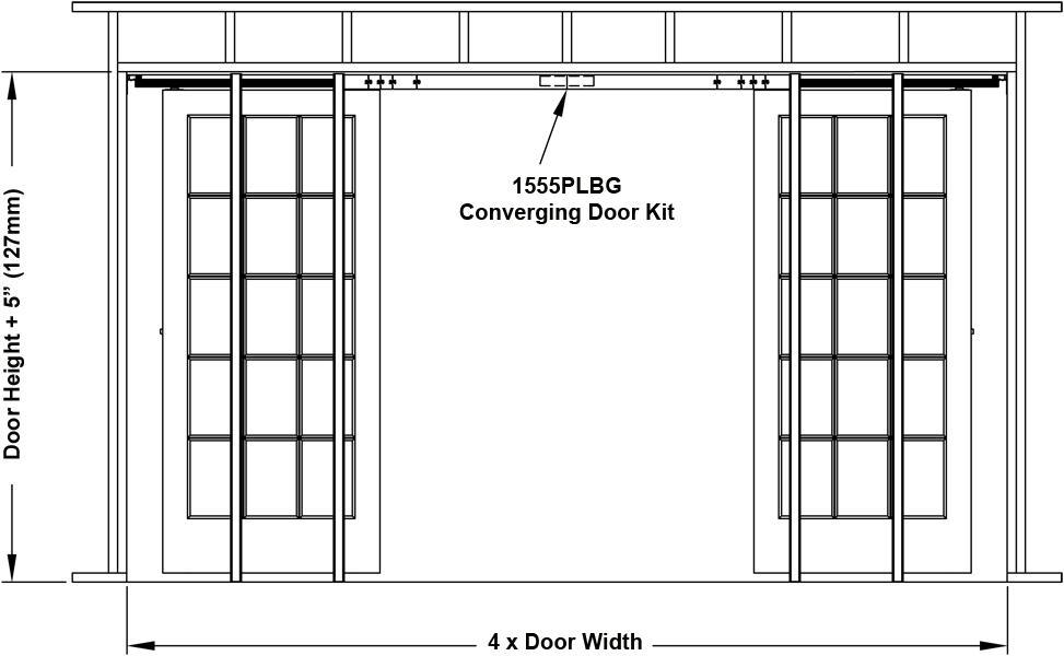 Johnson Hardware 1560 Pocket Door Frame Johnsonhardware