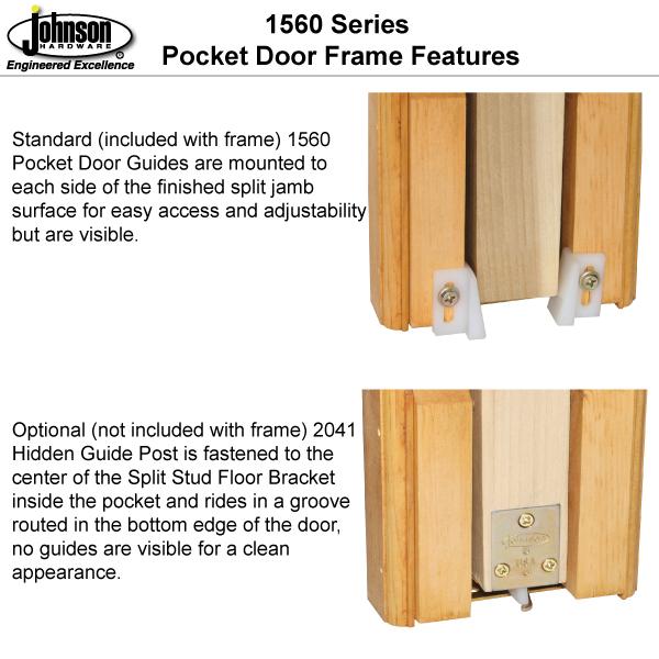 Pocket Door Guiding Options
