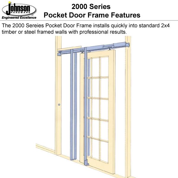 2 x 4 stud wall installation - Door Frame Installation