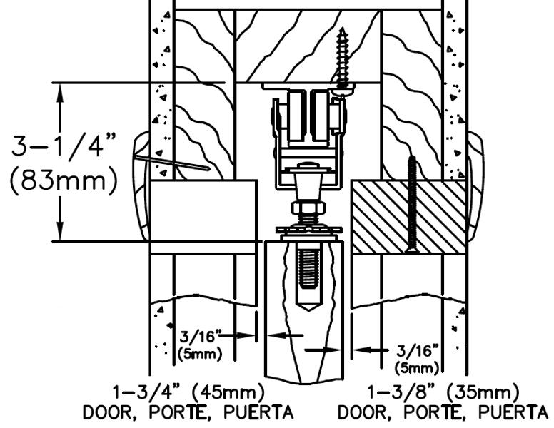 Johnson Hardware 200PD Pocket Door