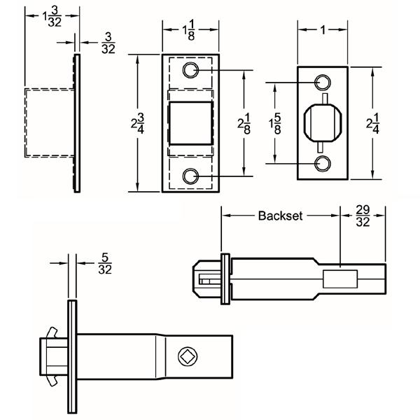 johnson pocket door instructions