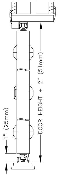 Johnson hardware 1700rd multi fold door hardware for 1700 series folding door instructions
