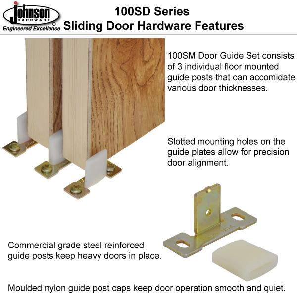 Johnson Hardware 100sd Sliding Bypass Door Hardware