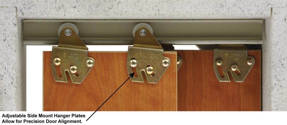 1138 Series Sliding Bypass Door Hardware & 1138 Sliding Bypass Door Hardware | Johnsonhardware.com | Sliding ...