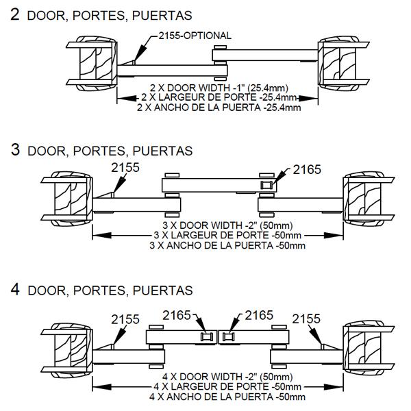pocket door design dimensions 1166 sliding bypass door hardware johnsonhardwarecom sliding