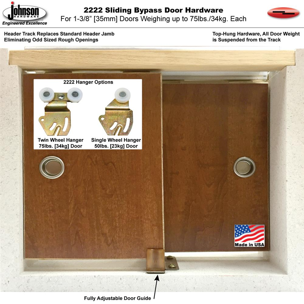 Sliding Bypass Door Hardware Discussion Related To Bypass Door Hardware Kit Sliding Bypass Barn