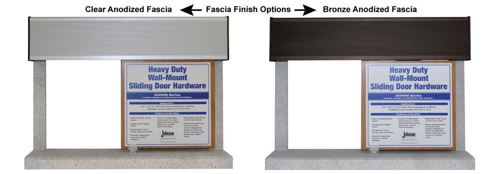 200WF1display1280.jpg  sc 1 st  Johnson Hardware & 200WF Wall Mounted Sliding Door Hardware | Johnsonhardware.com ...