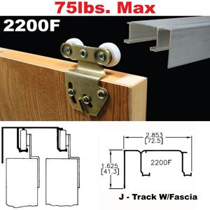 Picture of 2200F Sliding Bypass Door Hardware