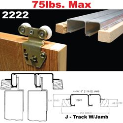 Picture of 2222 Sliding Bypass Door Hardware