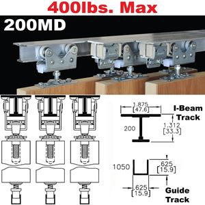 Picture of 200MD Multi-Pass Sliding Door Hardware