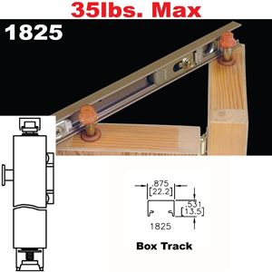 Johnson Hardware 1825 Tap In Bi Fold Door Hardware