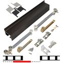 "Picture of 2610B60S 1 - 30"" Door Soft-Close Hardware Set, Bronze Finish Track"