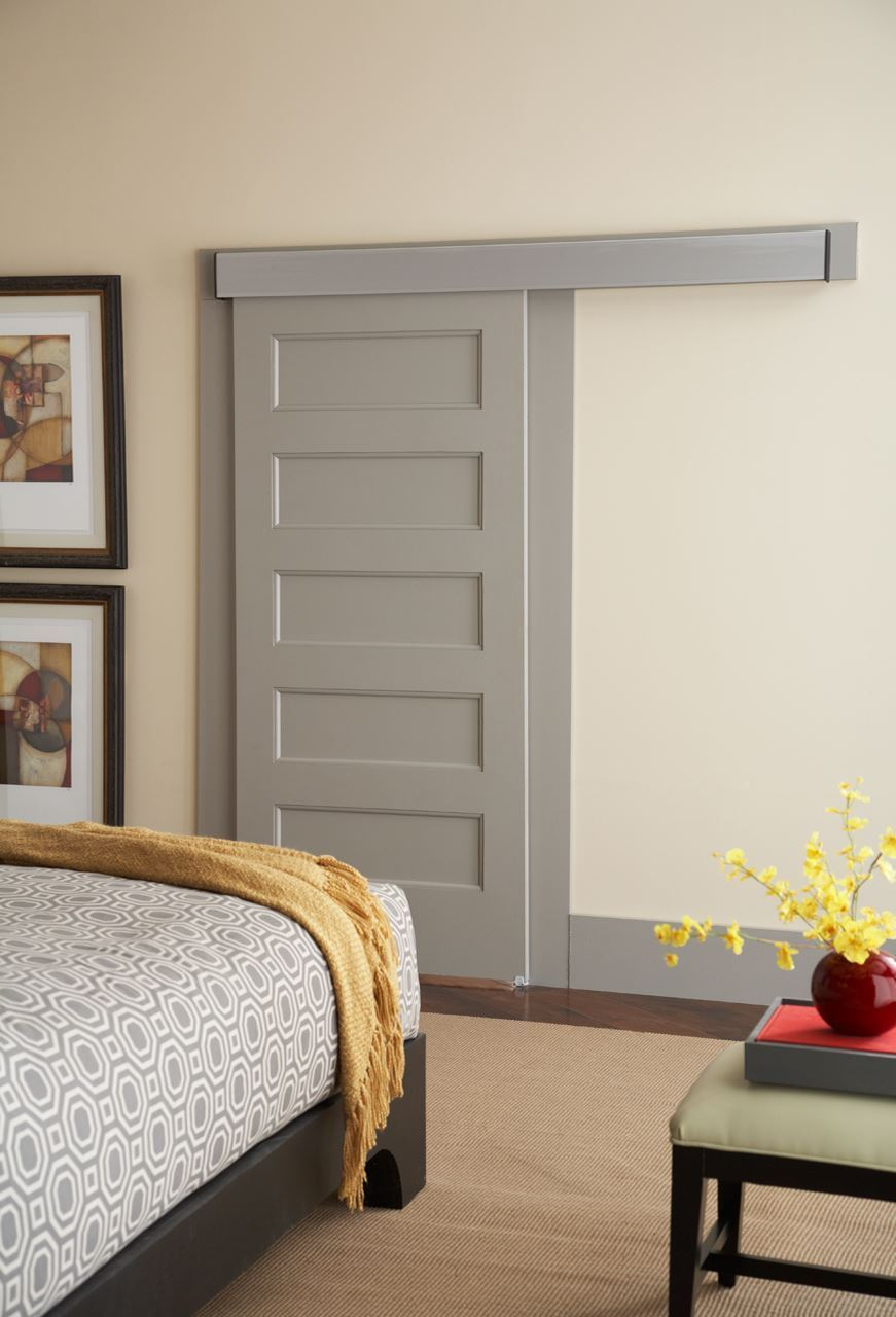 ... Picture of 200WF Wall Mount Sliding Door Hardware W/Fascia ...
