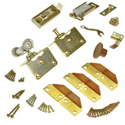 "Picture of 1031FD34 100FS 2-Panel Part Set, 1-3/4"" Door, W/Hinges"