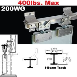 Picture of 200WG Wall Mount Sliding Glass Door Hardware