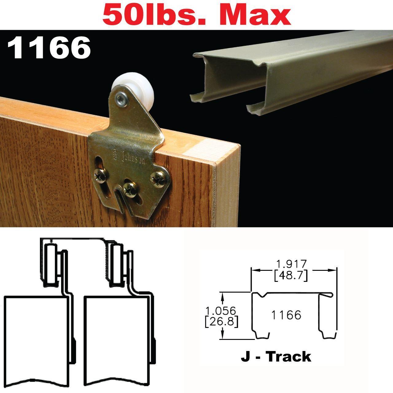 1166 Sliding Bypass Door Hardware Johnsonhardware Com