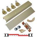 """Picture of 113F 30"""" 2-Door Hardware Set"""