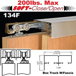Picture of 134F Sliding Bypass Door Hardware