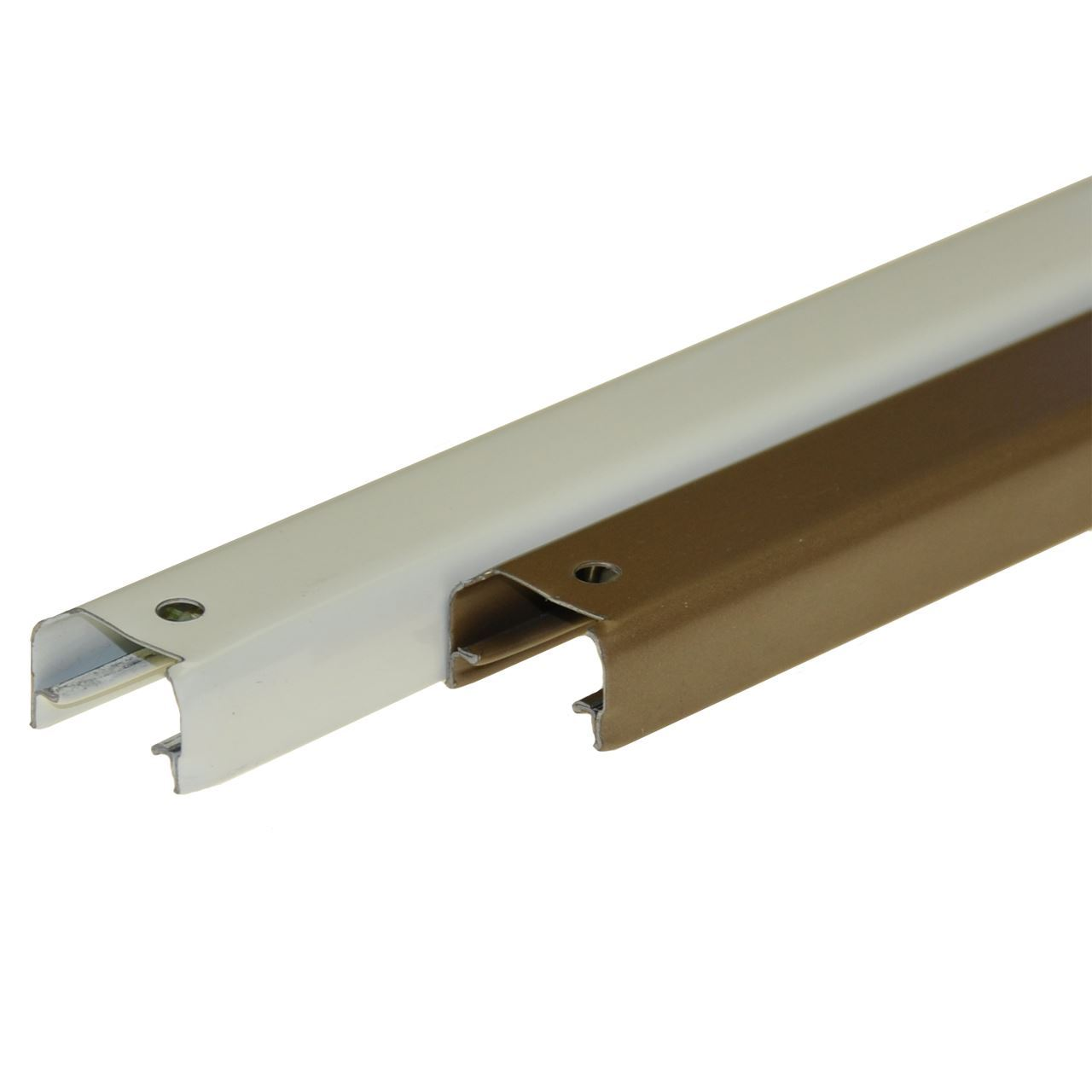 1825 series folding door track for Sliding door hardware