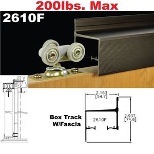 Picture of 2610F Wall Mount Sliding Door Hardware