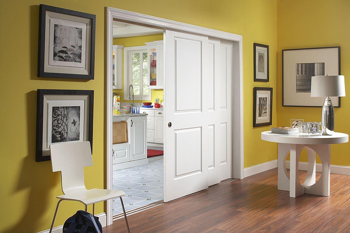 Johnson hardware 100md multi pass sliding door hardware for Living room doors
