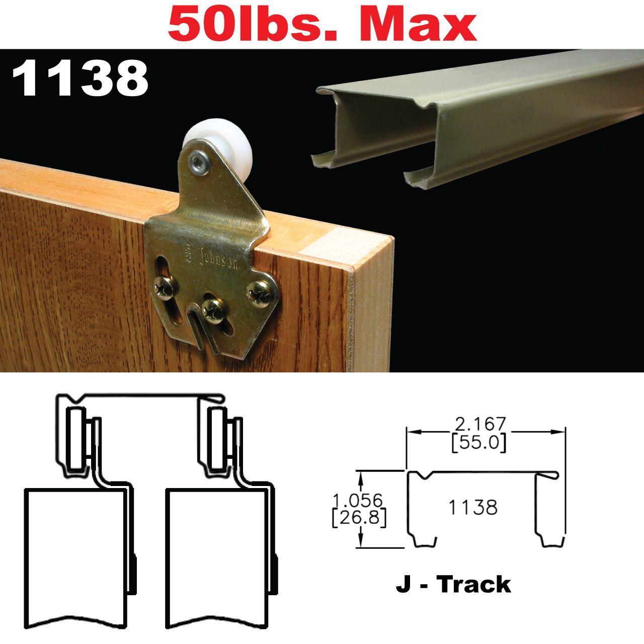 1138 Sliding Bypass Door Hardware Johnsonhardware Com