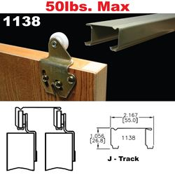 Picture of 1138 Sliding Bypass Door Hardware
