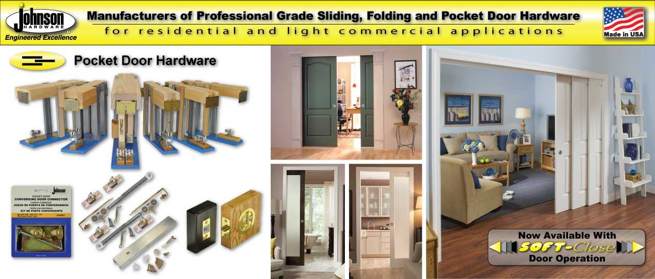 Johnsonhardware.com | Sliding | Folding | Pocket Door Hardware on