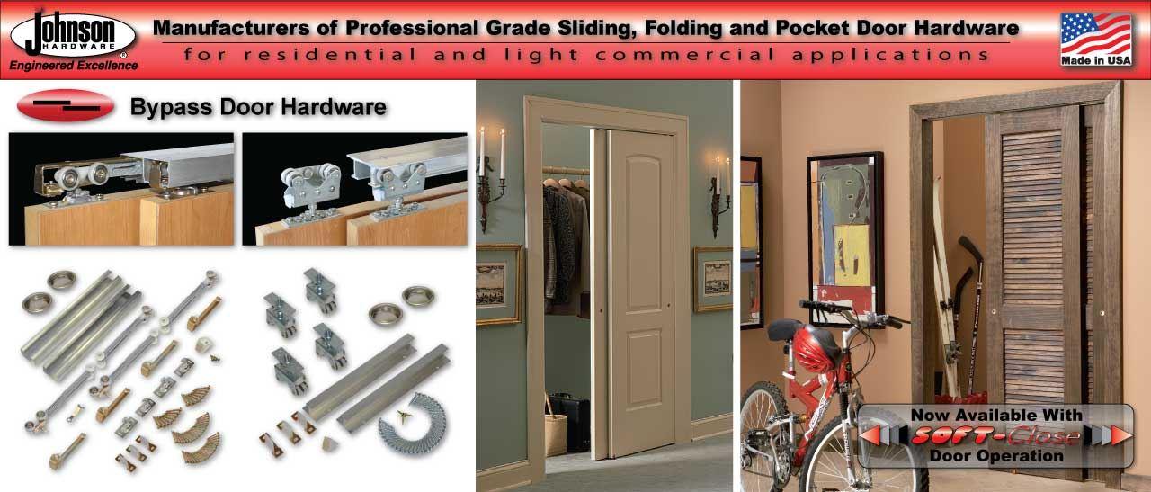 Johnsonhardware Sliding Folding Pocket Door Hardware