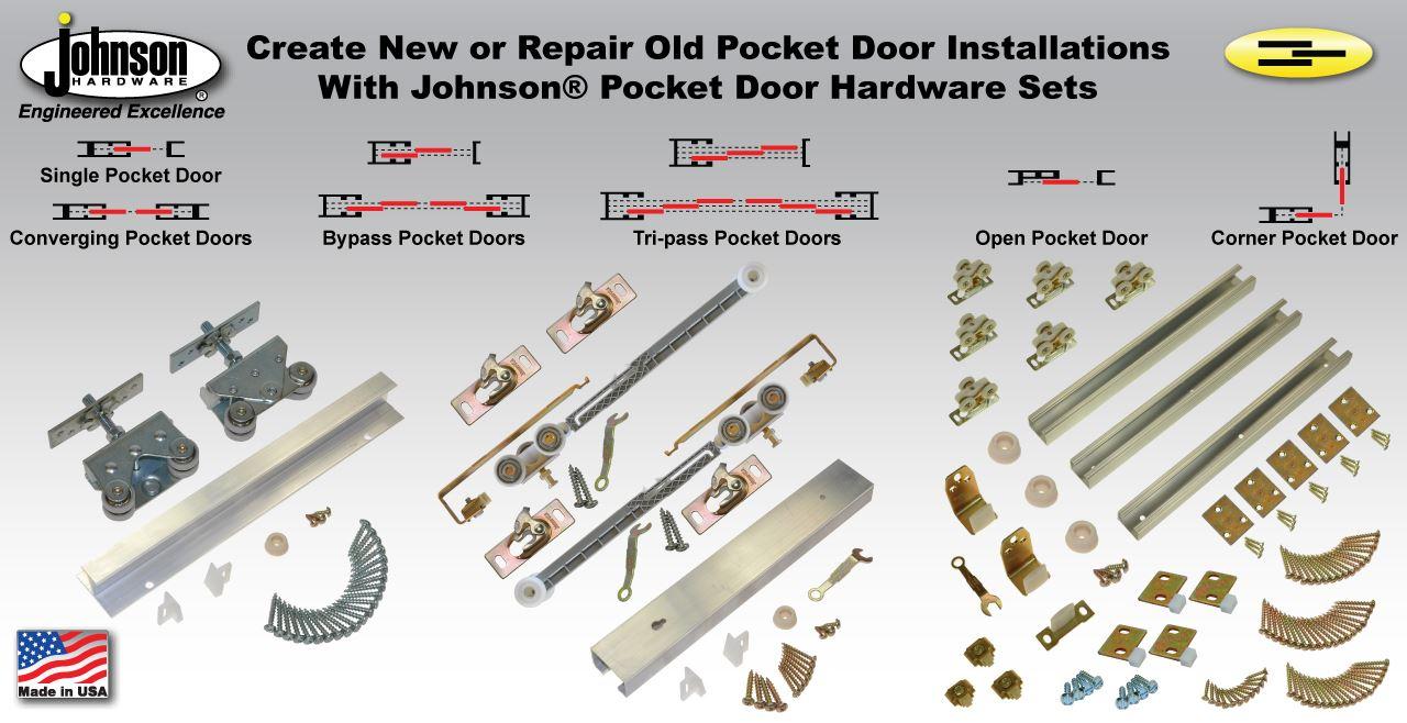 Pocket Door Hardware Johnsonhardware Sliding Folding