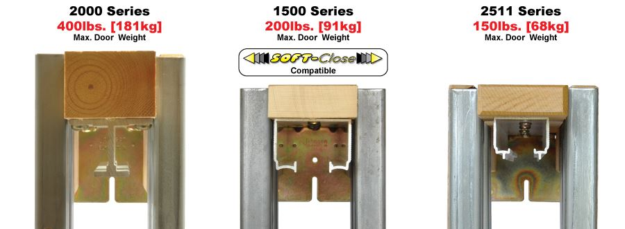 2000 Series Heavy Duty Pocket Door Frame Kits