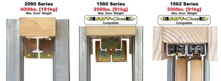 2060 Series Heavy Duty Pocket Door Frame Kits