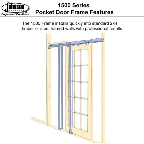 1500 Series Pocket Door Frames Johnsonhardware Sliding Folding Hardware