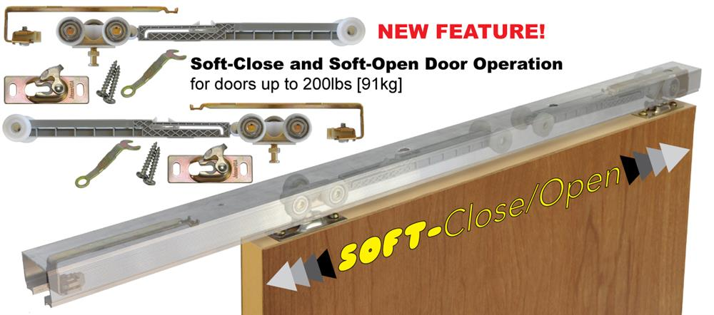 Minimum Door Width For Single Direction Soft Closing Operation Is 24