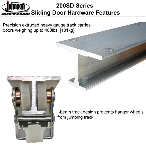 Johnson Hardware 200sd Sliding Byp Door