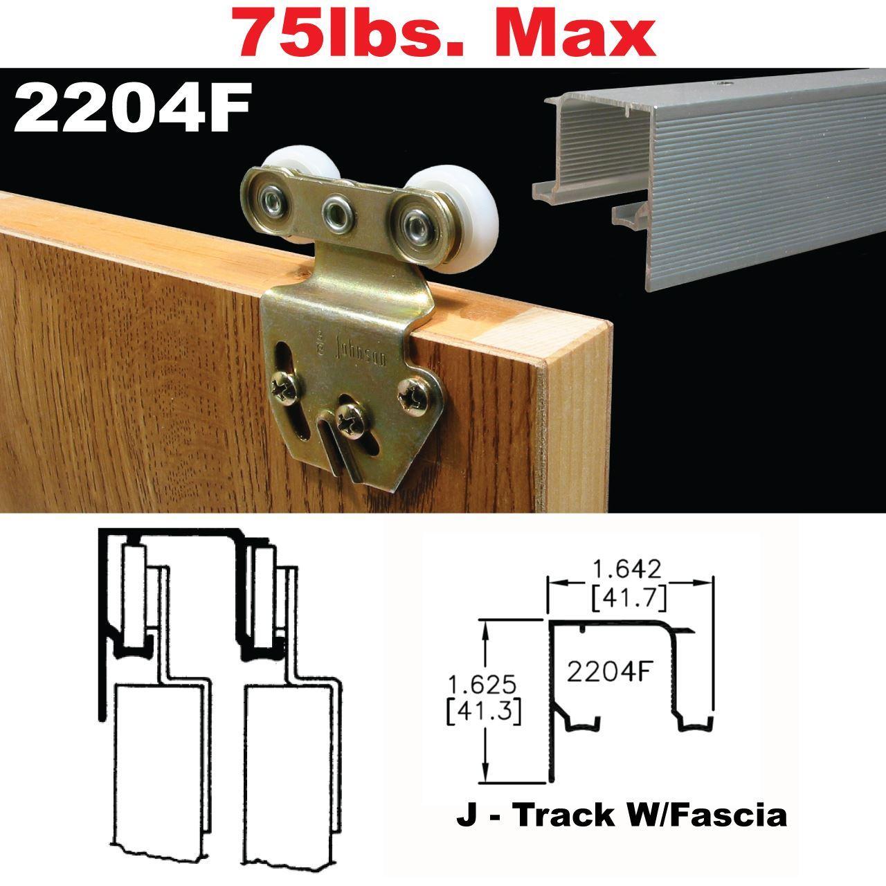 Johnson Hardware 2204f Sliding Bypass Door Hardware